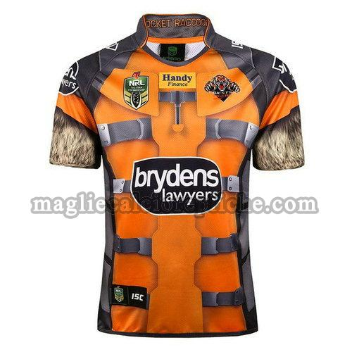 maglie rugby calcio wests tigers 2017-2018 giallo